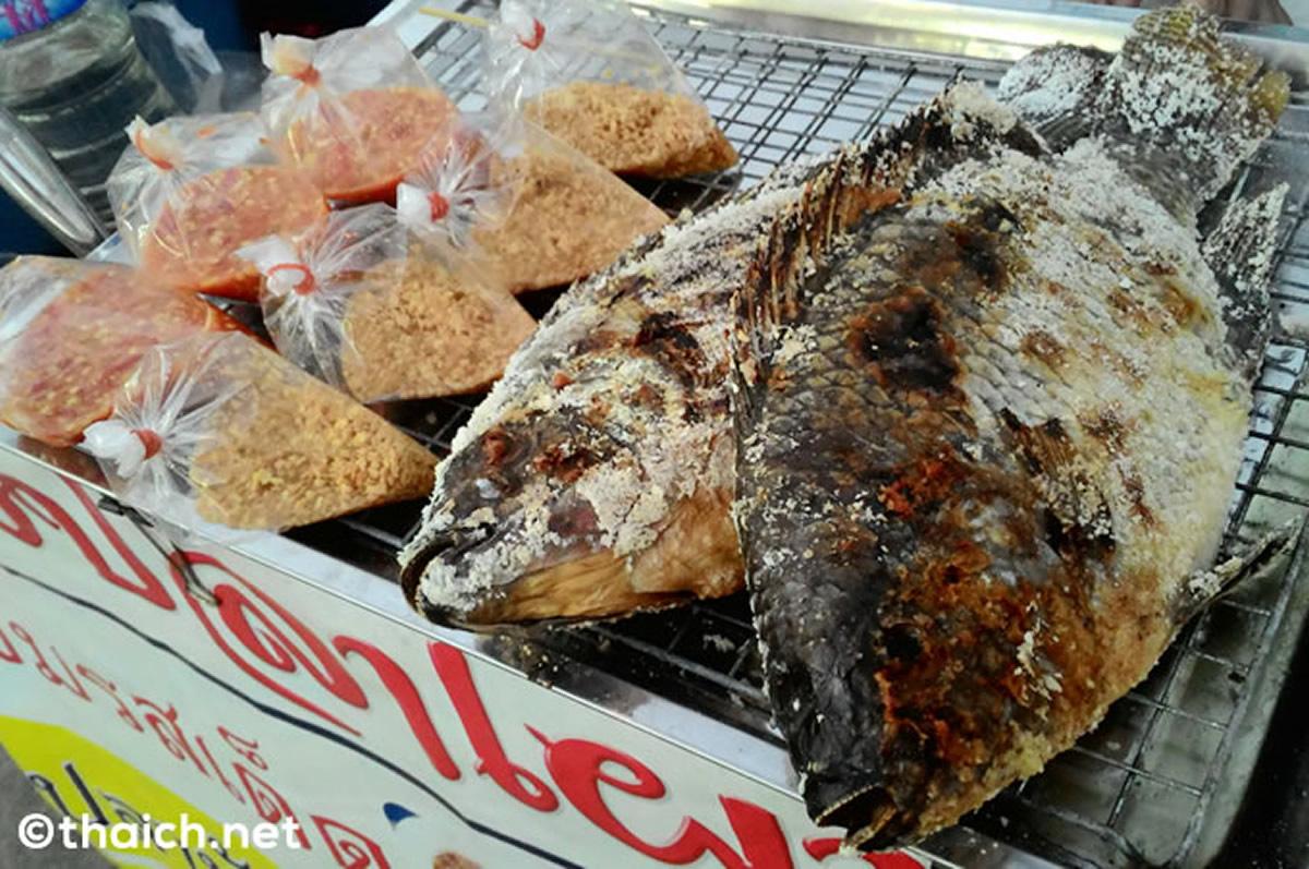 天皇陛下のお魚「プラーニン」のタイ式の美味しい食べ方
