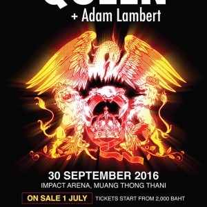 Queen + Adam Lambert On Tour in Bangkok