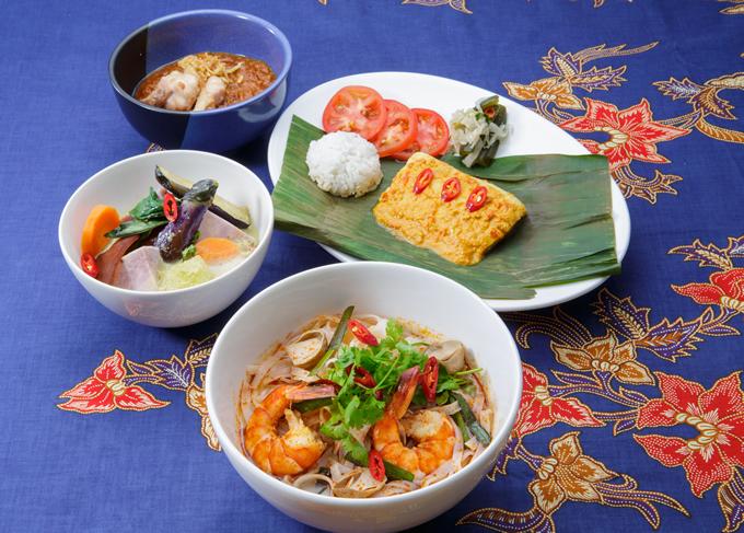 タイ風ベジタブルグリーンカレーも!名古屋東急ホテルで「アジアンランチフェア」開催