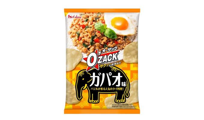 ハウス食品「オー・ザック ガパオ味」日本全国で発売