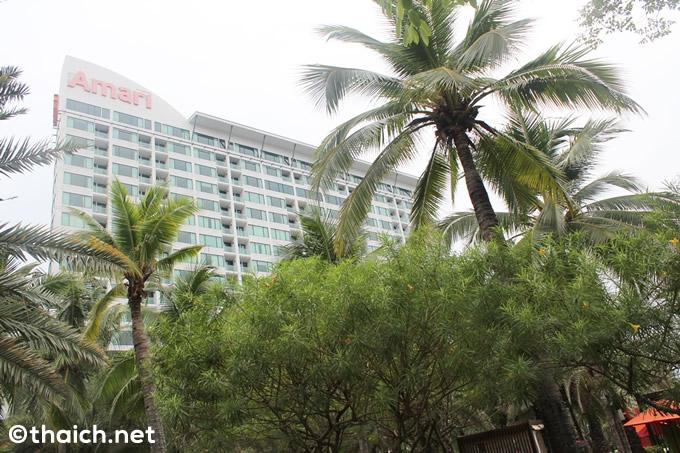 アマリ・パタヤ:豪華ホテルでリゾート気分を満喫!=夏休みにお薦めホテル (1)