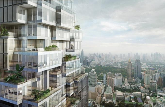バンコク「マハナコン」は崩れ落ちそうなデザインの超高層ビル【TVウォッチング】