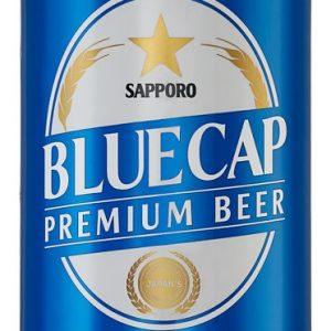 blue cap