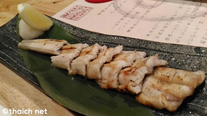 つしま~バンコクで食べる対馬海峡の天然黄金あなご