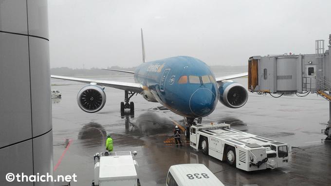 ベトナム航空で成田-バンコクの旅