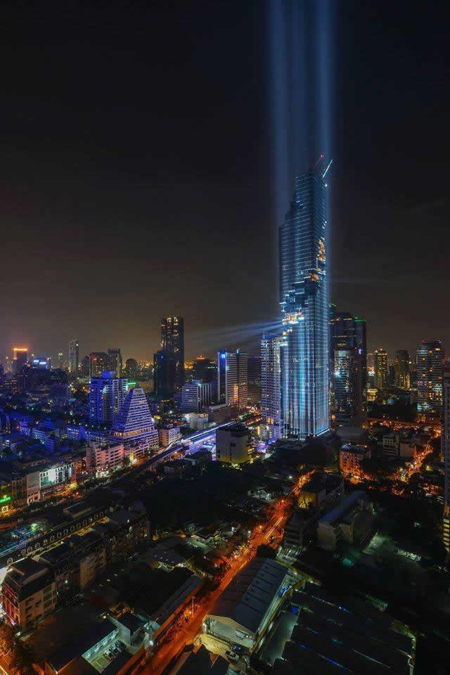 MahaNakhon bangkok rising