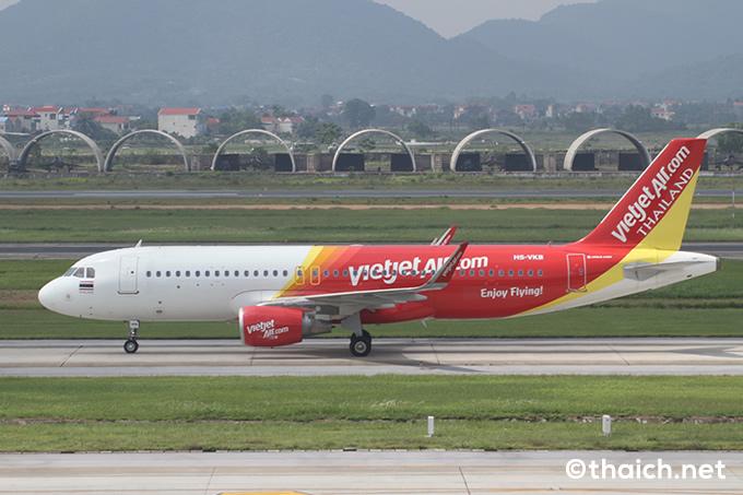 タイ・ベトジェットエアがタイ国内線を就航開始