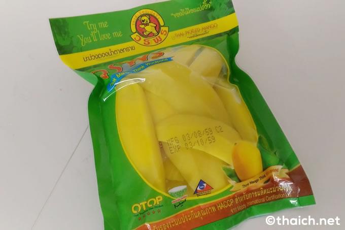 コンビニで買った「OTOP」の酢漬けマンゴー