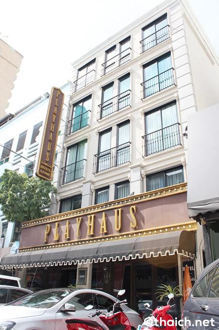 プレイハウス・トンロー~ミュージカルの世界に入り込んだような気分になるホテル