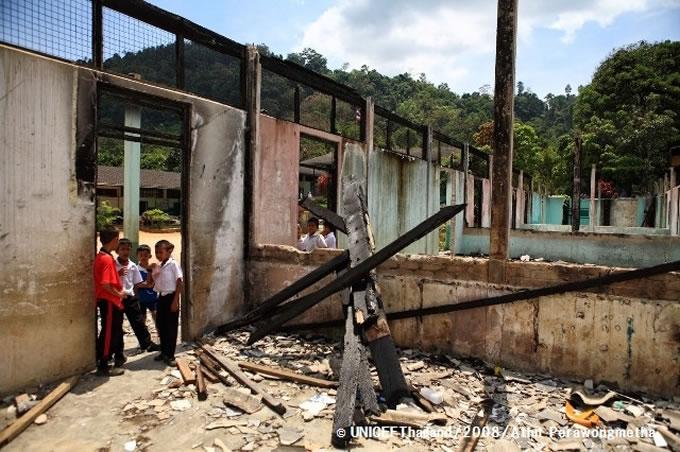 「学校は子どもにとって安全な場所」ユニセフ・タイ事務所代表が暴力による子どもの犠牲を憂慮