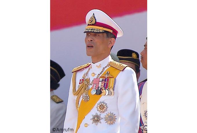 ワチラロンコン皇太子が後日タイ新国王に即位
