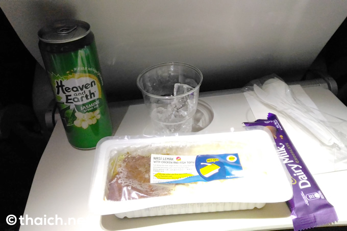 スクートの機内食セット