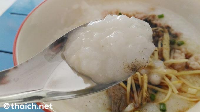 タイの2つのお粥~カオトムとジョーク