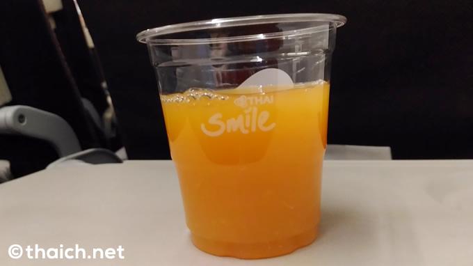 タイ・スマイルの機内食