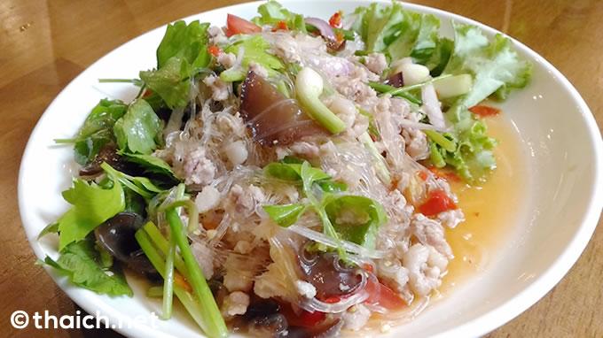 サッパリ美味しい、おつまみにもピッタリのピリ辛春雨サラダ「ヤムウンセン」
