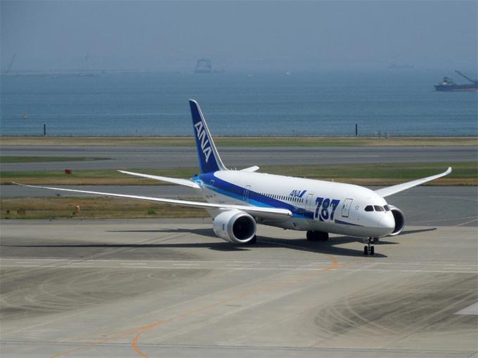 全日空 東京(成田・羽田) = バンコク線にボーイング787-9型機を導入