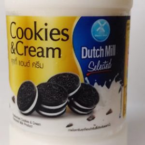 cokkies and cream milk a