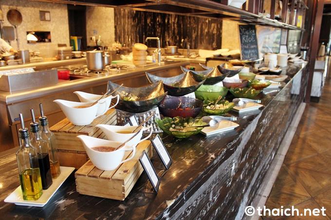 「ヒルトン・スクンビット・バンコク」の朝食ブッフェ