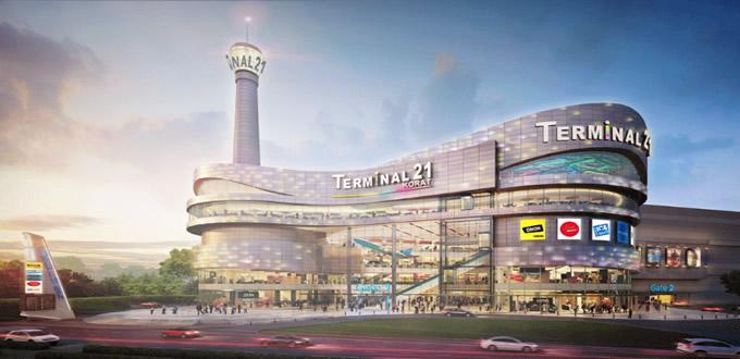 「ターミナル21 コラート」がオープン、3階には東京フロアも