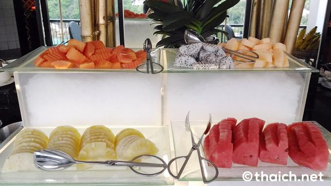 フルーツのコーナー