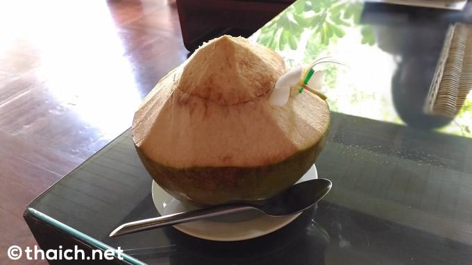 サムイ島「チャウエン リージェント」ウェルカムドリンク