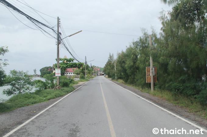 ビッグブッダ(ワット・プラヤイ)へ続く道