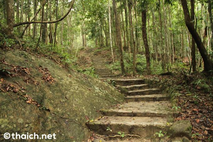 パンガン島・ターンサデット国立公園のぺーン滝を目指す