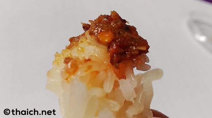 タイ版ご飯のお供!?「パラーサップ」でモチ米が止まらない