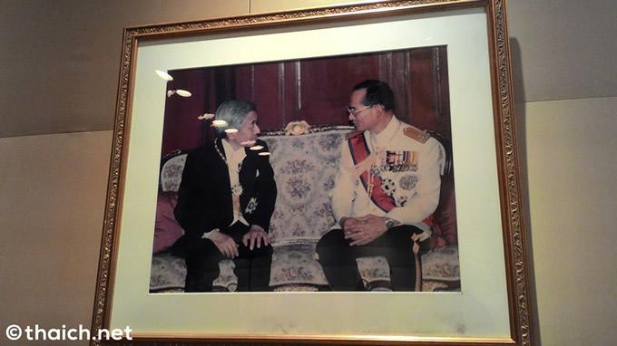 天皇陛下とプミポン前国王陛下