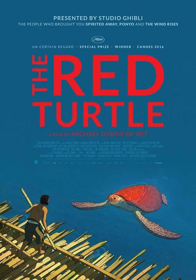 アニメ映画「レッドタートル ある島の物語」がタイで2017年1月26日公開