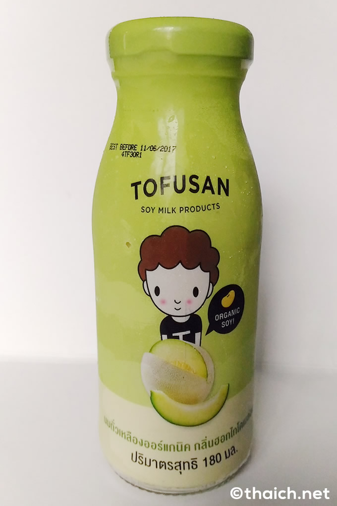 「TOFUSAN」のメロン豆乳