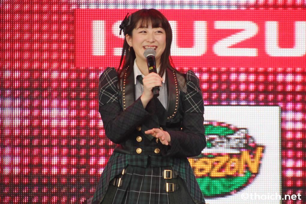 「JAPAN EXPO THAILAND 2017」に出演した際の伊豆田莉奈さん