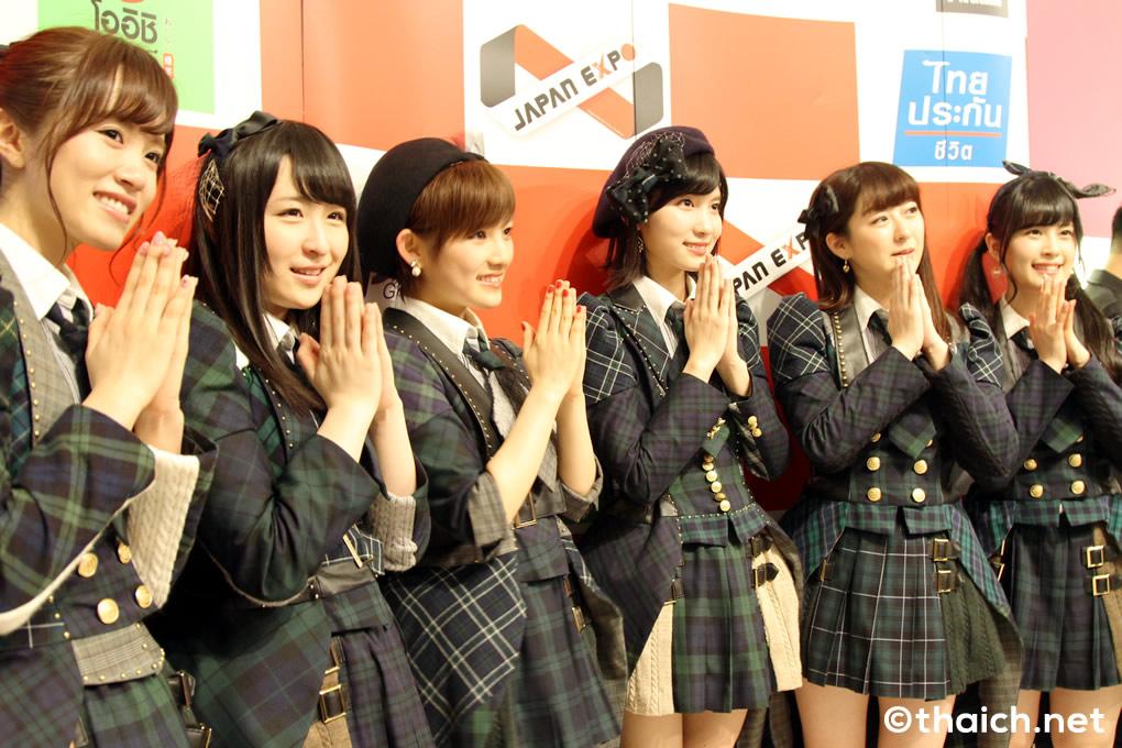 AKB48ライブ後の囲み取材「JAPAN EXPO THAILAND 2017」