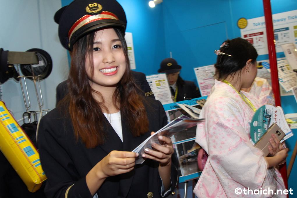 BNK48が東京メトロのPR!「タイ国際旅行フェア#20」
