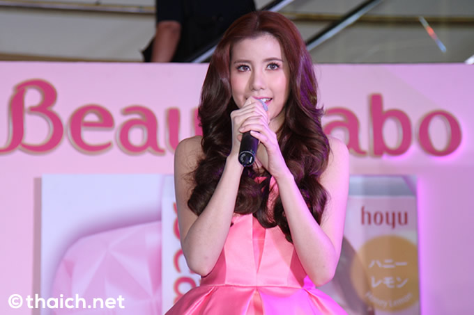 タイ「Beautylabo ホイップヘアカラー」イメージキャラクターに人気女優エスター