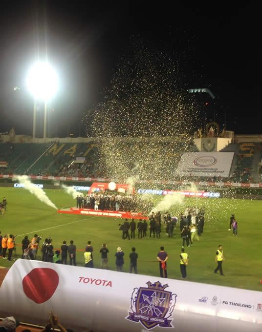 TOYOTO Premier Cup 2016-いとたくタイサッカー観戦記-