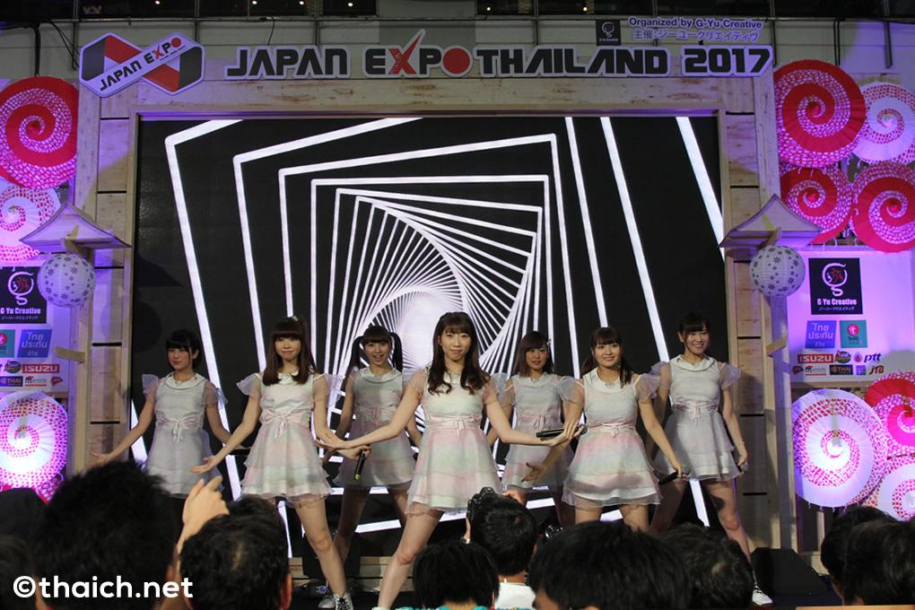 愛乙女☆DOLL 海外初ライブ in バンコク!「JAPAN EXPO THAILAND 2017」初日