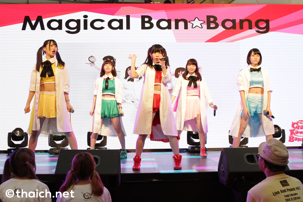 Magical Ban☆Bang ライブ in バンコク「JAPAN EXPO THAILAND 2017」初日