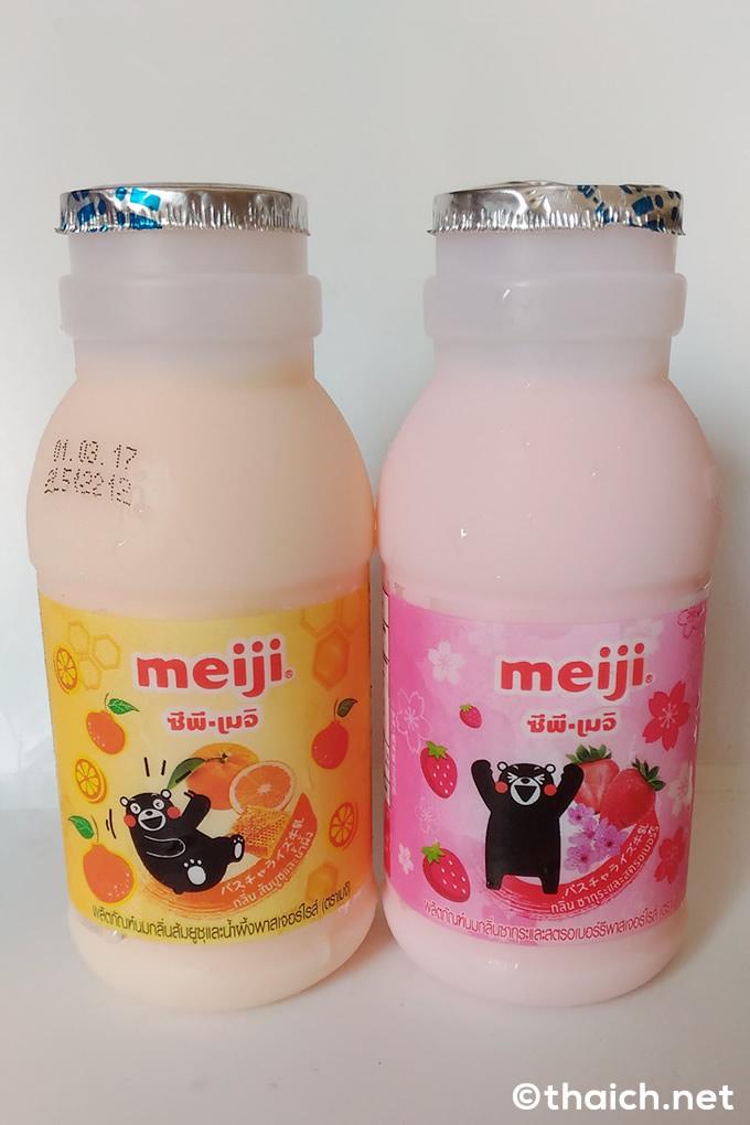 タイで「くまもんフルーツ牛乳」新発売!