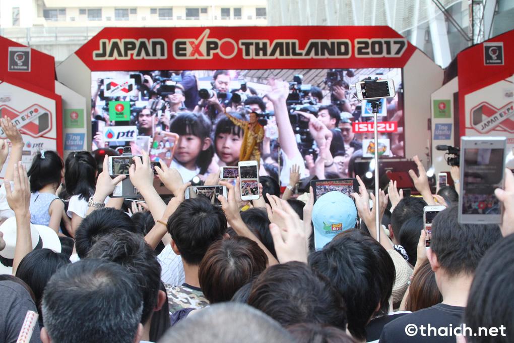 PPAP  in バンコク!ピコ太郎が「JAPAN EXPO THAILAND 2017」にやって来た!