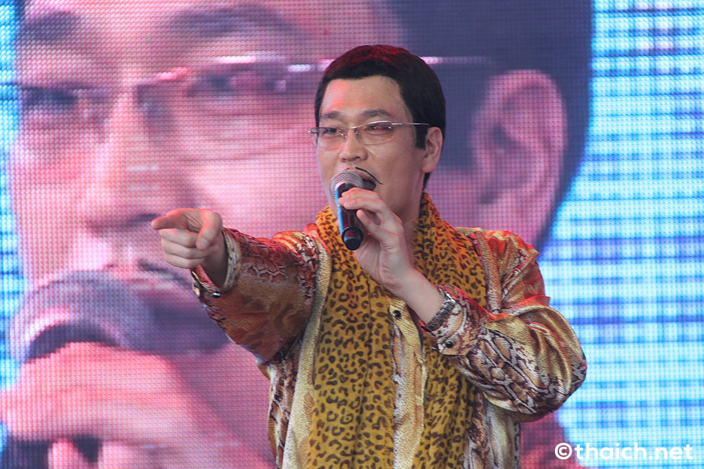PPAP  in バンコク!ピコ太郎が「JAPAN EXPO THAILAND 2017」にやって来た!
