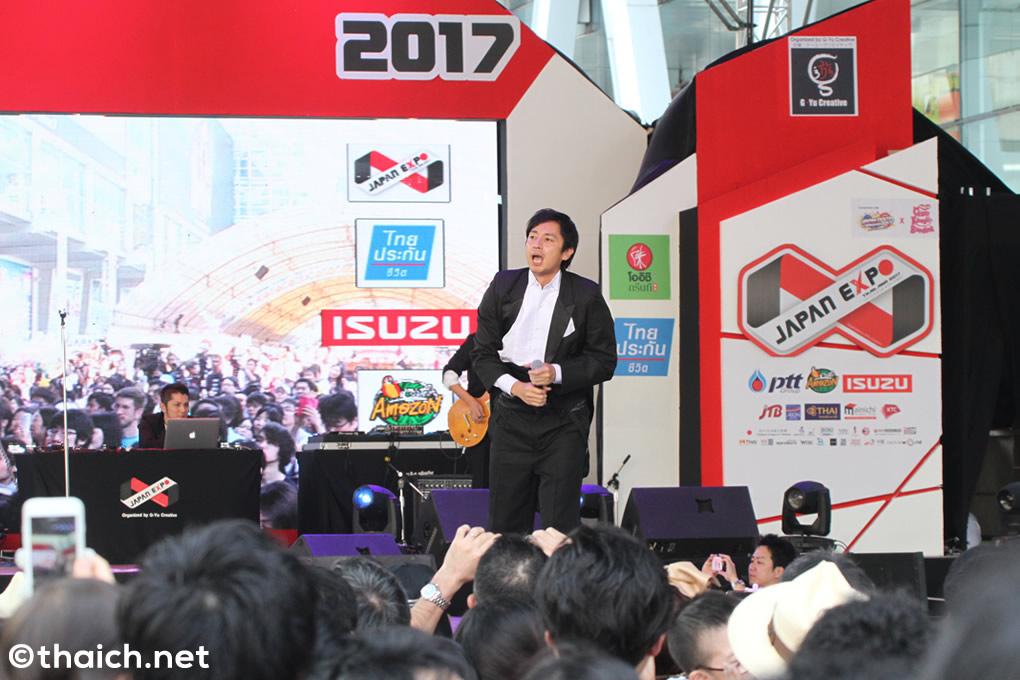 鴬谷フィルハーモニーの下ネタ歌詞に大人たちは苦笑い(笑)「JAPAN EXPO THAILAND 2017」