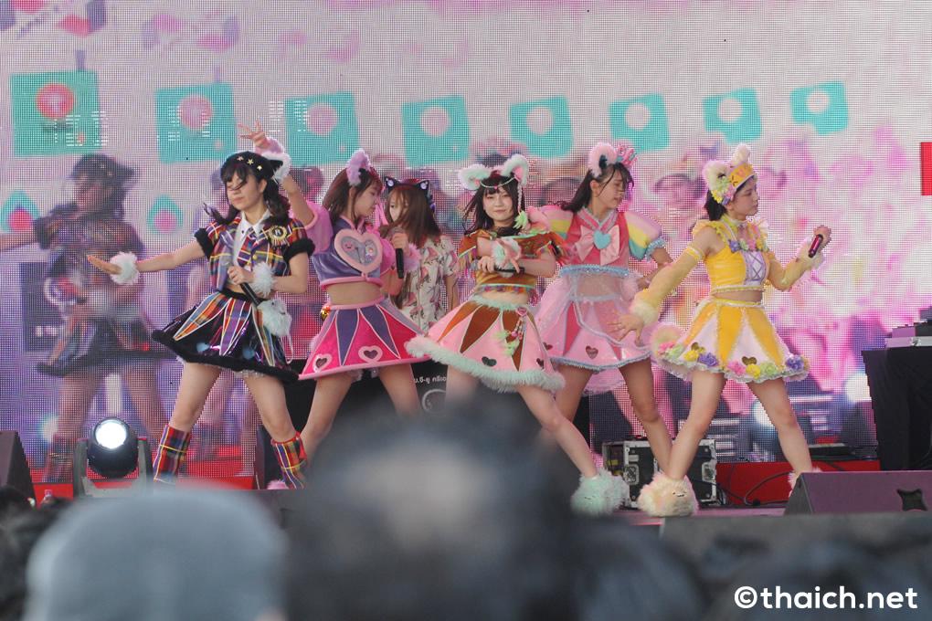 わーすた ライブ in バンコク「JAPAN EXPO THAILAND 2017」