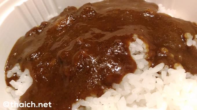 タイのセブンイレブンの「ビーフカレー」が予想以上に美味しかった