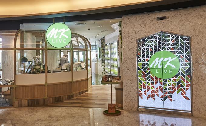 オーガニックの野菜を提供する新スタイルのMKレストラン「MK LIVE」