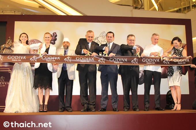 「GODIVA(ゴディバ)」がバンコク・サイアムパラゴンでグランドオープン