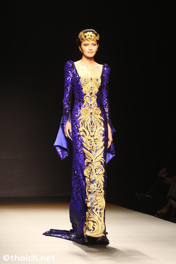 Guo Peiファッションショー[BANGKOK INTERNATIOANL FASHION WEEK 2017]