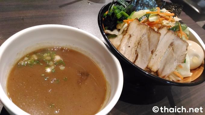 「つけ麺」(220バーツ)