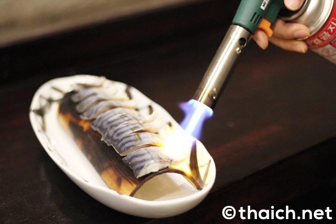炙りサバ(60000キープ)