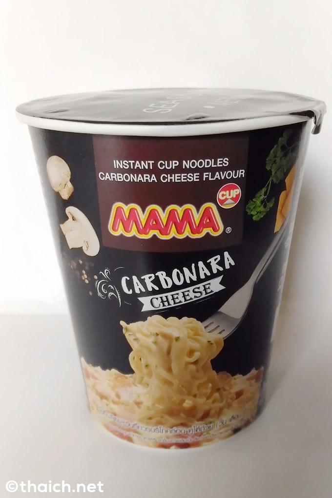 意外にイケる!?カップラーメン「MAMA」のカルボナーラ味